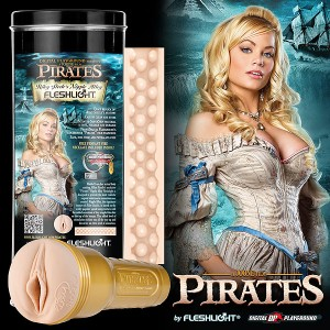 Fleshlight Пиратки: Riley Steele Nipple Alley